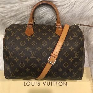 Authentic Louis Vuitton Speedy 30 #5.9 K